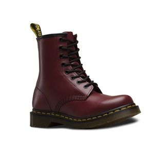 DR MARTENS 1460 AIRWAIR CHERRY RED SMOOTH